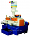 Macaroni press with a productivity of 550 kg/h