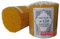Свічки церковні ОФІРКИ №120 (упаковка 2кг), КанЛайт