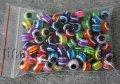 Аксессуары для браслетов глазки 10мм 100шт 7482