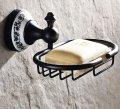 Держатель для мыла Soap Holder Ceramic Black, Артикул 79042