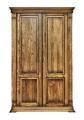 Шафа 2-дверна Ексклюзив з масиву дуба