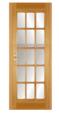 Двері з масиву натуральної деревини 07