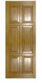 Двері з масиву натуральної деревини 09