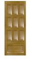 Двері з масиву натуральної деревини 10