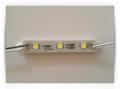 Светодиодный модуль SMD5050, 3 LED Желтый