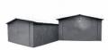 Гаражи металлические сборные, разборные с односкатной или двухскатной крышей