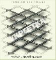 Сетка просечно - вытяжная цельнометаллическая