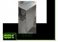 Решетка вентиляционная приточно-вытяжная с сеткой C-RPVC
