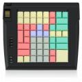Клавиатура LPOS-II-64 в чёрном корпусе со сканером отпечатков пальцев
