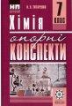 Хімія 7 клас  опорні конспекти навчальний посібник Титаренко Н. В.