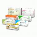 Упаковка картонная для пищевых добавок, биологически-активных добавок