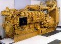 Электростанция когенерационная с генератором Caterpillar G3516B.