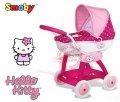 Коляска с люлькой для куклы Hello Kitty Smoby 523134