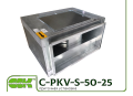 C-PKV-S-50-25-4-220 вентилятор канальный в шумоизолированном корпусе