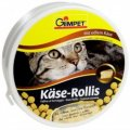 Витаминная добавка для кошек 400 таб Gimpet Сырные ролики