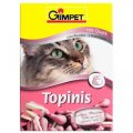 Витаминная добавка для кошек 190 таб Gimpet Топинис творог