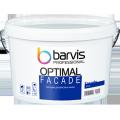 Фасадная дисперсионная краска с высокой кроющей способностью Facade Optimal 10 л