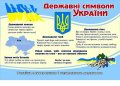 Стенд Уголок символики Украины, арт. 015-03223