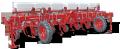 Культиватор растениепитатель навесной высокостебельный ALTAIR 4,2-04