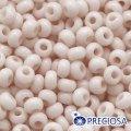 Бисер Preciosa 10/0 цв. 03211, фасовка 5г, солгель окрашенный SDC, бежевый, круглый, (УТ0004863)