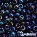 Бисер Preciosa 10/0 цв. 59135, фасовка 5г, ирис I, синий, круглый, (УТ0004713)