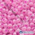 Бисер Preciosa 10/0 цв. 37177, алебастр al, розовый, круглый, (УТ0001958)