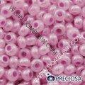 Бисер Preciosa 10/0 цв. 37398, алебастр al, розовый, круглый, (УТ0003173)
