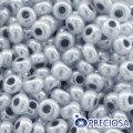 Бисер Preciosa 10/0 цв. 37342, алебастр al, серый, круглый, (УТ0004411)