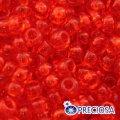 Бисер Preciosa 10/0 цв. 90050, прозрачный NT, красный, круглый, (УТ0001964)