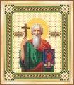 Схема для вышивки бисером, частичная, икона андрей первозванный, св. Апостол , 12х14 см, тм чарiвна мить , арт. Сби-017, (УТ0005358)