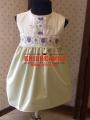 Плаття вишите Князівські фіалочки 00345