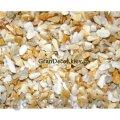 Цветная крошка мраморная желтая Сиена 8-12 мм
