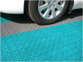 Modular floor covering for the parking of the Car