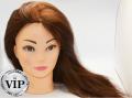 Манекен для парикмахеров 55-60 см. 100% натуральных волос