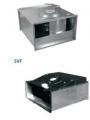 Прямоугольный канальный вентилятор с лопатками загнутыми вперед SVF