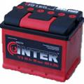 Автомобильный аккумулятор INTER 6СТ-45Аз