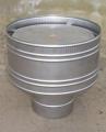 Волпер (дефлектор) для дымоходов и вентиляции, нержавеющая сталь