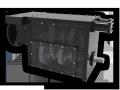 Коробка передач для сверлильного станка