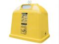 Стеклопластиковый контейнер  H-B 2,15 M3 для раздельного сбора мусора( пластик)