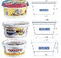 Упаковка для масложировой промышленности: для наливных маргаринов, легких масел, майонеза, жиров, творожных масс и т.д
