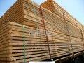 Доска обрезная строительная. Сосна или ель, естественная влажность. Размер 50х150х(4000, 4500, 6000), на экспорт