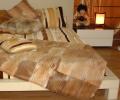 Пошив покрывал на мебель из натурального меха лисы, бобра, енота, ондатры, шиншиллы, кролика, покрывала и пледы с натурального меха, Киев