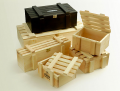 Кутии дървени