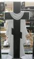 Гранитный крест 80*40*7см.