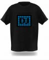 Светодинамические логотипы на футболках. Футболка с Эквалайзером - Флеш футболка