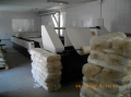 Fabrics for the milk industry