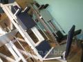 Тренажер спортивный два в одном: Жим ногами + Гак приседания  Производство спортивных тренажеров.  Для дома и спортивных залов.