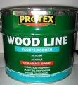 """Лак поліуретановий яхтний WOOD LINE  ТМ """"PROTEX"""" 2,1 кг"""