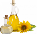 The sunflower oil refined 1 l, 2 l, 3 l, 5 l, 10 l and filling