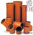 Трубы ПВХ для наружной канализации с раструбом SDR 51- SN 2- d=160x2000 мм